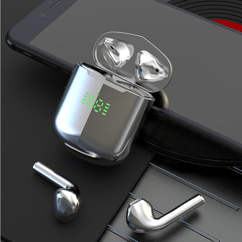 HiFi Stereo Earbuds with wireless charger