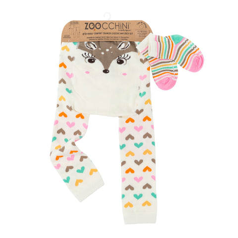 Baby Leggings & Sock Set ‐ Fiona das Rehkitz
