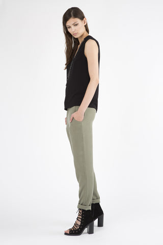 Cropped Easy Pant