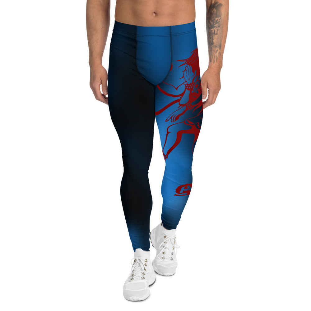 Cosmic Consciousness Men's Sport & Yoga Leggings