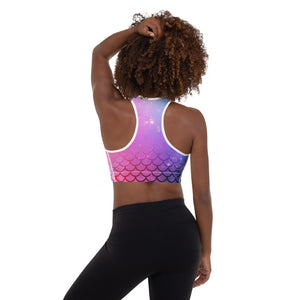 Believe in Magic Padded Sports Bra Yoga Top