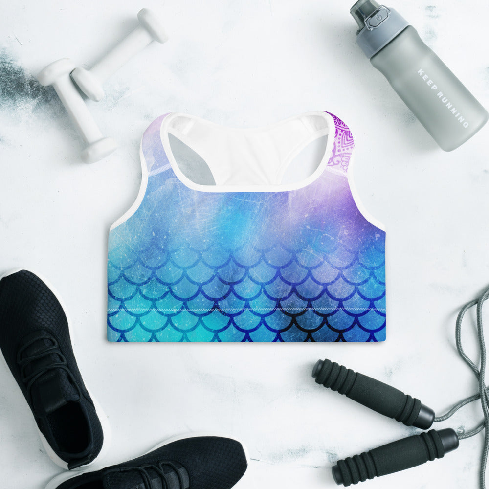 Nirvana Padded Sports Bra Yoga Top