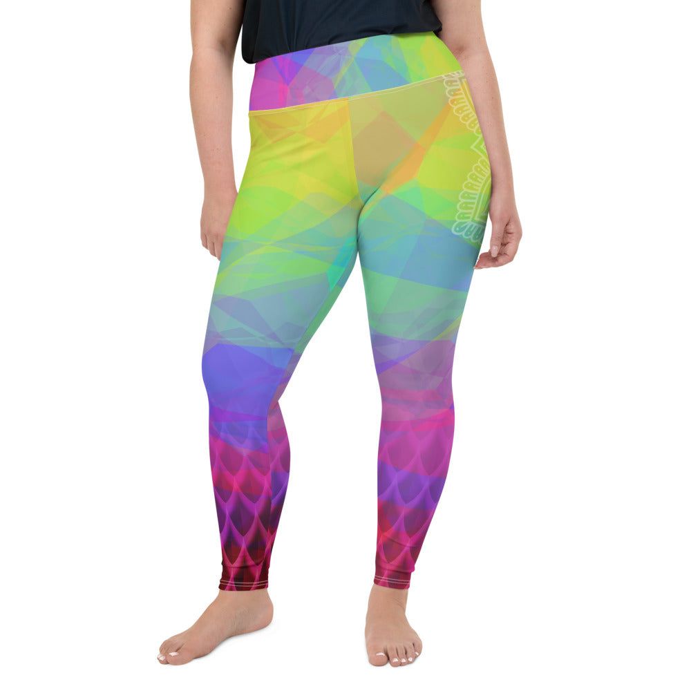 Kundalini Queen Crown Chakra Curvy Leggings