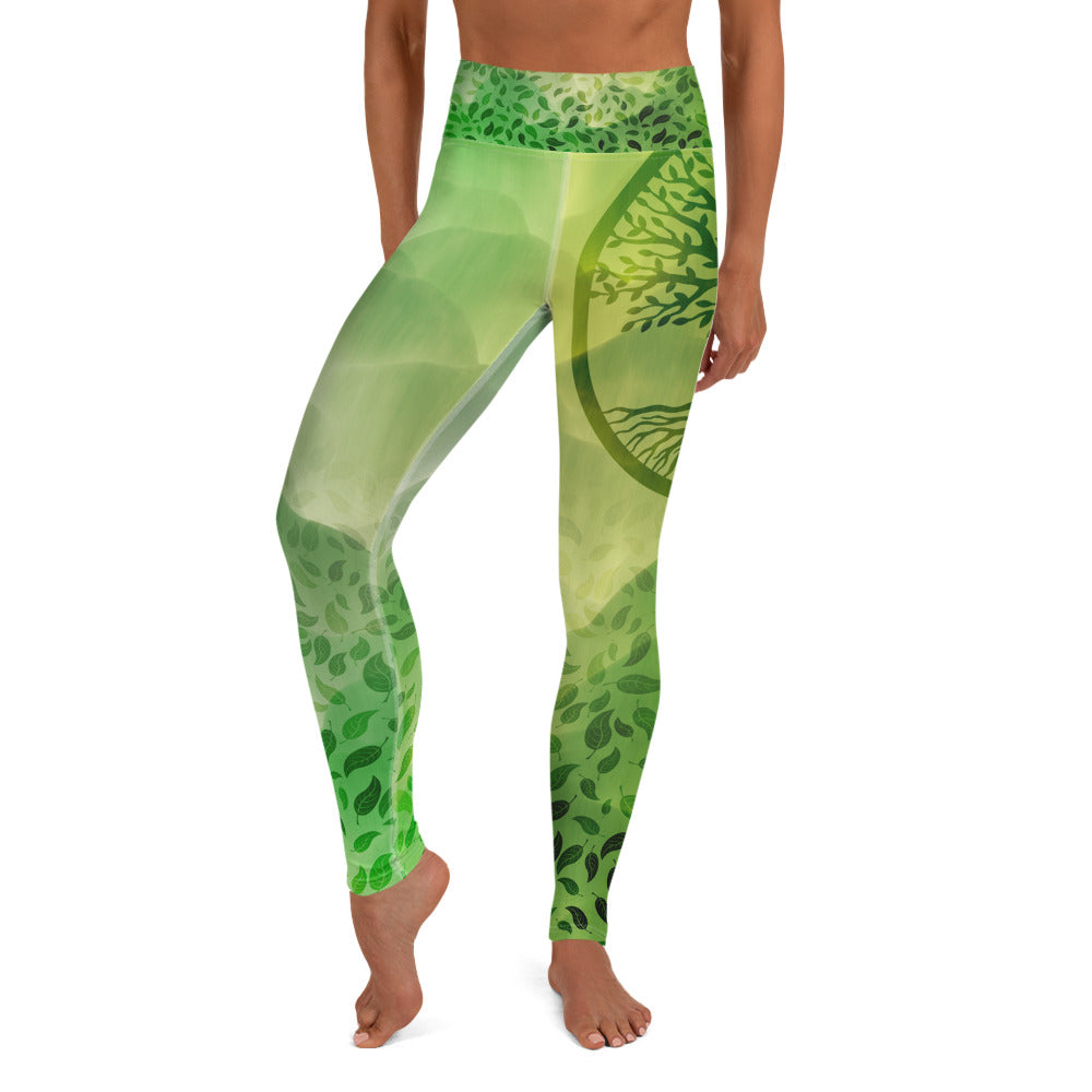 Quan Yin Anahata Yoga Leggings