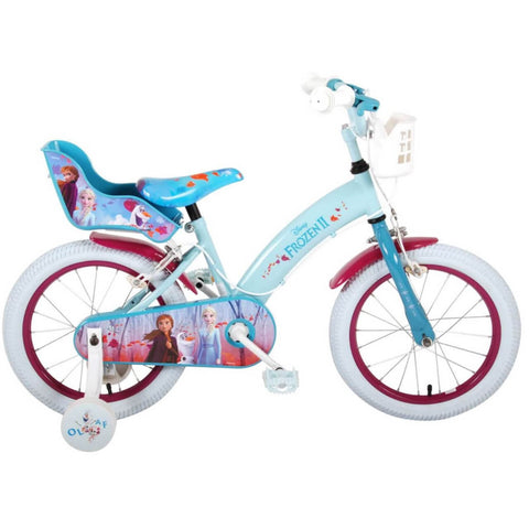 Frozen kinderfiets. Disney Frozen is onder alle meisjes uiterst gewild. De Disney Frozen film is een absolute hit.