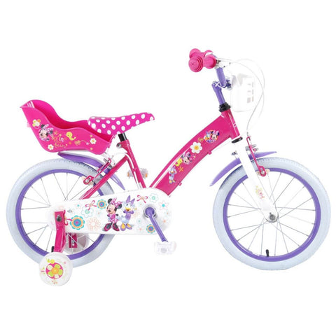 Disney Minnie Bow-Tique 16 inch Meisjesfiets Roze.