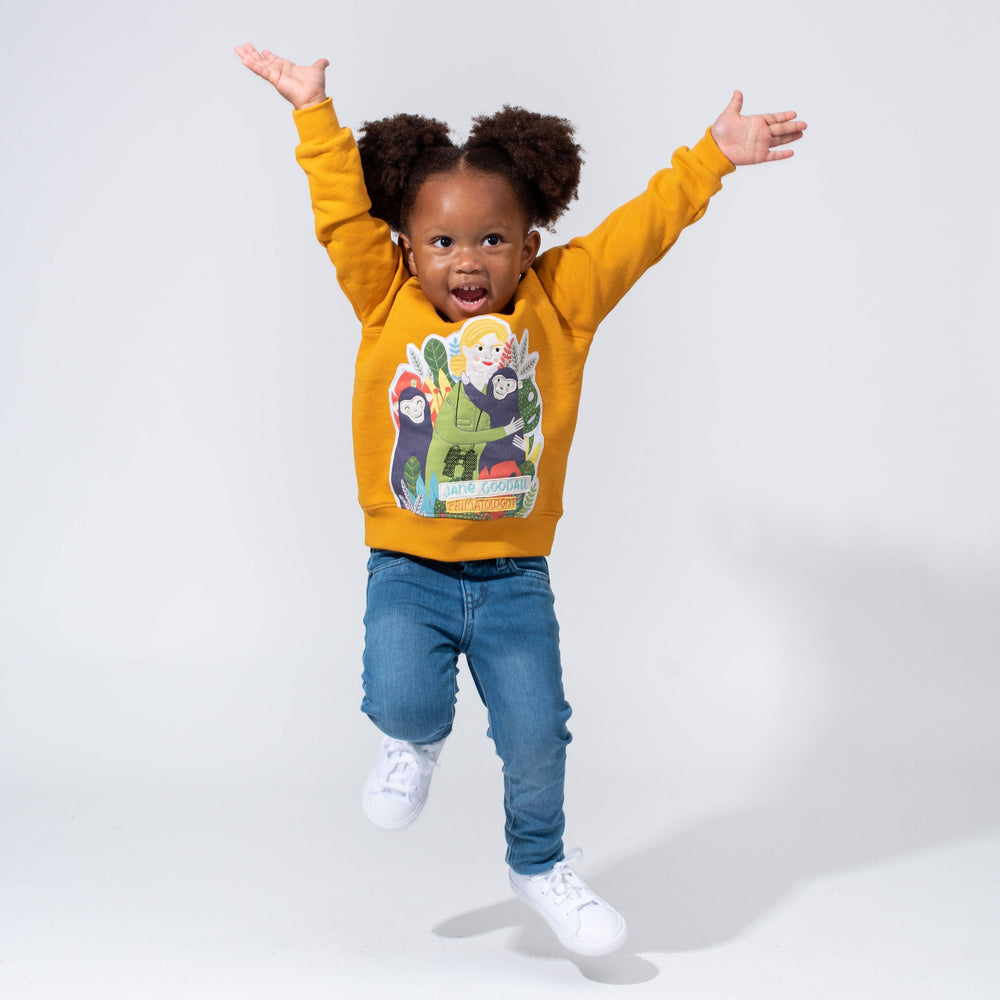 Piccolina Kids | Dr. Jane Goodall Trailblazer Sweatshirt