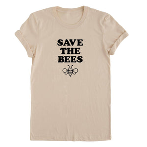 Nature Supply Co | Save the Bees Organic Cotton Adult Tee