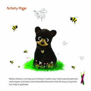 "FREE ""What the World Needs Now: Bees!"" activity page"