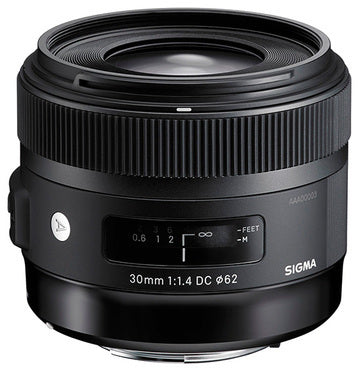 Sigma 30mm F1.4 DC HSM Art for Nikon / 5 års GARANTI