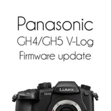 Panasonic GH5/GH4/G9/FZ2000 V-Log Firmware update