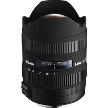 Sigma 8-16mm F4.5-5.6 DC HSM for Canon EF  5 års GARANTI