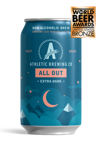 Athletic Brewing Co. All Out Stout, 6-pack