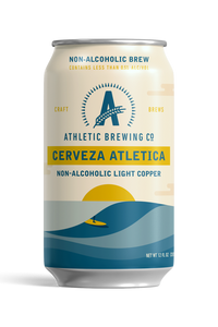 Athletic Brewing Co. Cerveza Atletica, 6-pack