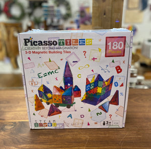 Picasso 3-D Magnetic Building Tiles