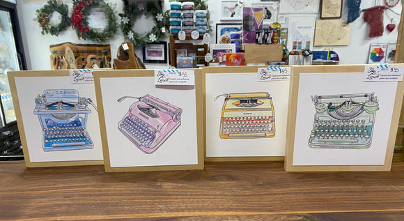 Typewriter Prints