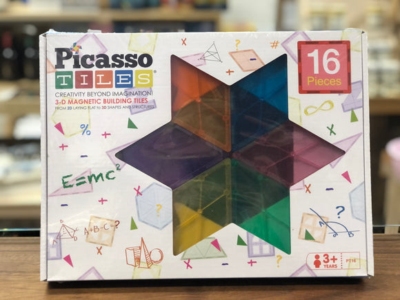 Picasso Tiles - 3D magnetic building tiles