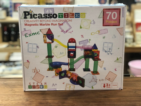 Picasso Tiles - Magnetic Marble Run Set