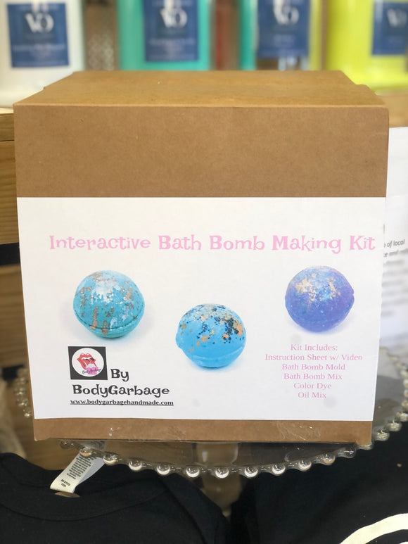 Interactive Bath Bomb Making Kit
