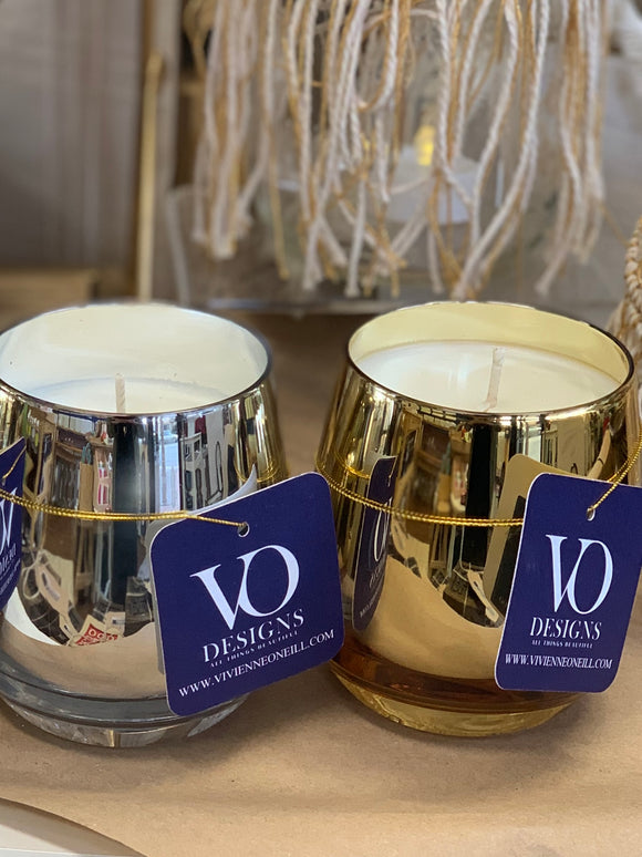 Luxa Metallic Soy Candles
