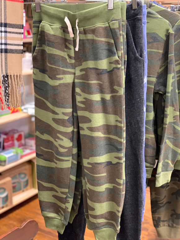 Big Kids Camo Fleece Joggers