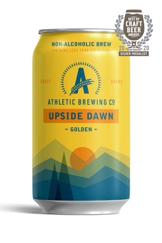 Athletic Brewing Co. Upside Dawn Golden, 6-pack