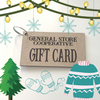 Etched Gift Cards with Key Ring