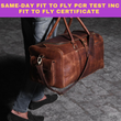 Same day RT PCR test with Approved Fit-to-fly within 5 hours. Guaranteed.