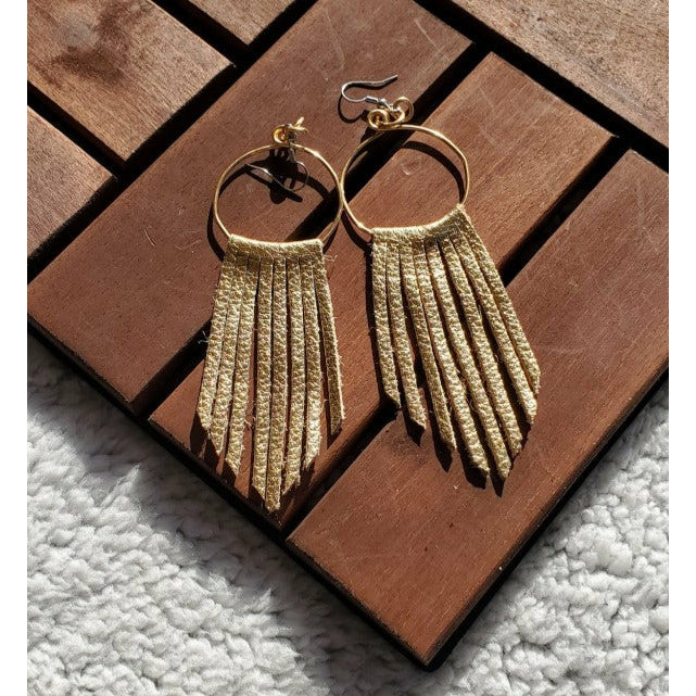 The Fringe Earrings