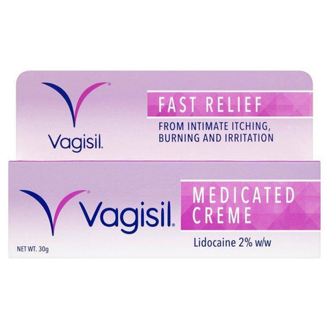 Vagisil Medicated Creme 30G