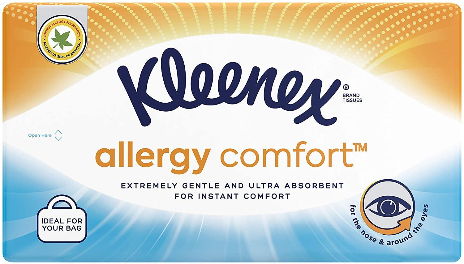 Kleenex Allergy Comfort™ Tissues Soft Pack Tissues - Chemist2You - Kleenex -