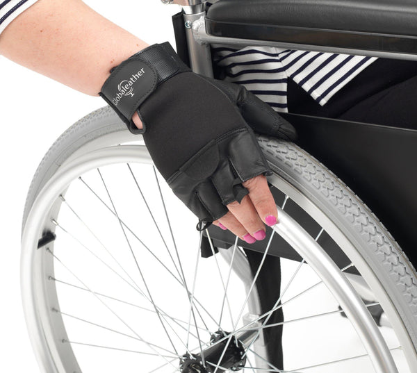 Sure Grip Fingerless  Wheelchair Gloves - Various Sizes - Mobility2you - discount wholesale prices - from Drive DeVilbiss Healthcare