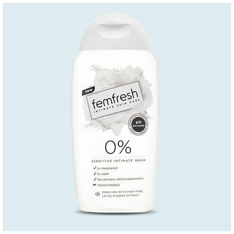 Femfresh Body Fresheners Range 0% Intimate Wash 250ml