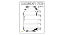Load image into Gallery viewer, Emergency Savings Fund Chart