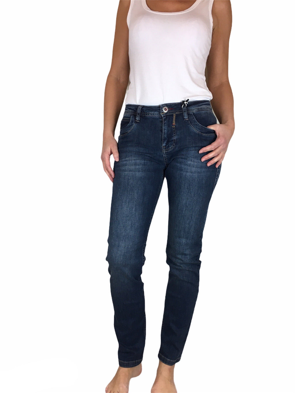 BluefireCo Jeans NANCY stone washed
