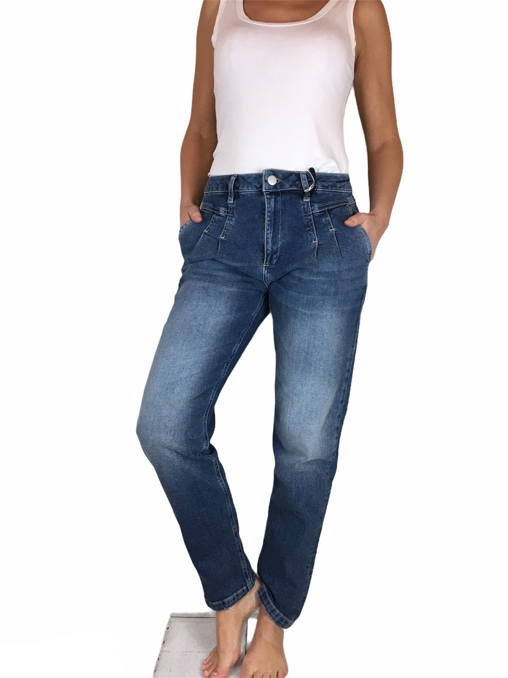 Mom Fit Jeans BluefireCo. RITA