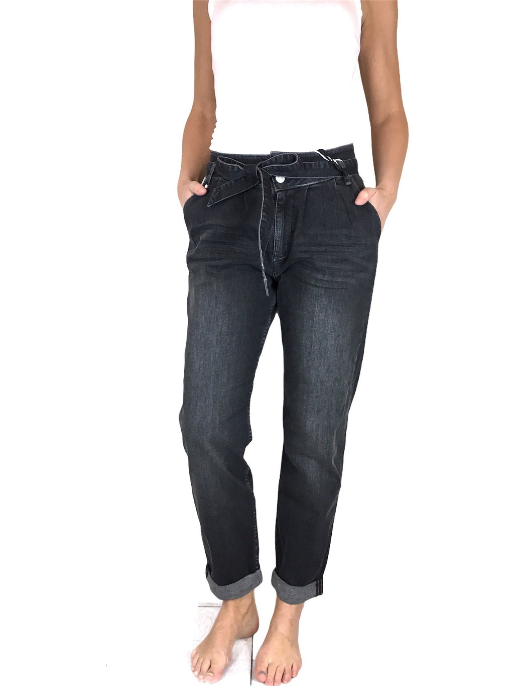 Mom Fit Jeans BluefireCo. RITA black used