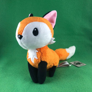 Tea Fox Plush, Fox plushie, Fox stuffed animal, stuffed toy, softie, collectible plush
