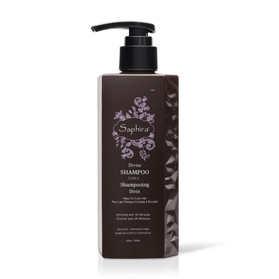Divine Shampoo for Curly to Wavy Hair, 8.5 oz