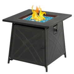 Solikefire 28-in Outdoor Propane Fire Pit Patio Gas Table