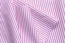 Load image into Gallery viewer, Pink & White Striped Poplin Bow Tunic