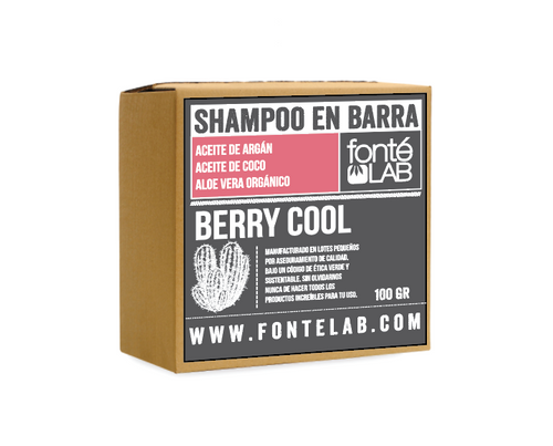 Shampoo en barra Berry Cool