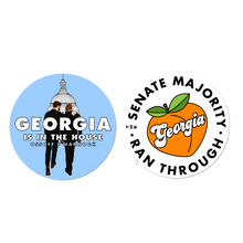 Load image into Gallery viewer, GEORGIA IS IN THE HOUSE STICKER PACK