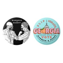 Load image into Gallery viewer, WARNOCK x OSSOFF BUTTON PACK