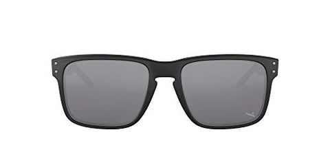 Oakley Holbrook Sunglasses, Matte Black Frame/Warm Grey Lens