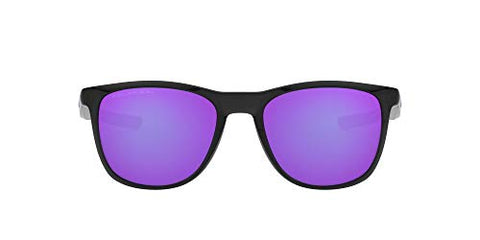 Oakley Men's Trillbe X Sunglasses, Polished Black Ink/Violet Iridium Polarized