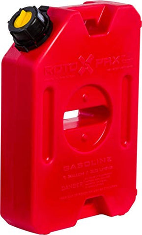 RotopaX Red 1 Gallon Gasoline Pack 14 x 10 x 4