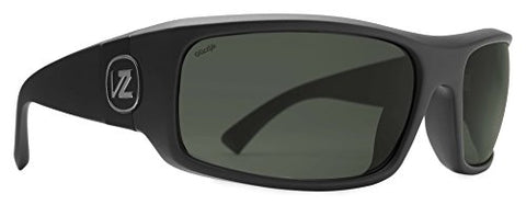VonZipper Kickstand, Polarized Black Smoke Satin/Vintage Grey