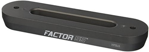 "Factor 55 Hawse Fairlead, 1.5"" Thick, Gun Metal Gray"
