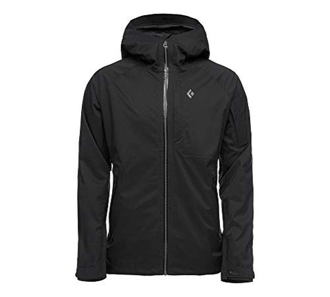 Black Diamond Men's Boundary Line Insulated Jacket, Black, Medium